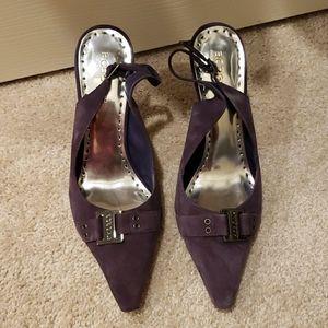 Purple pumps BCBG size 9